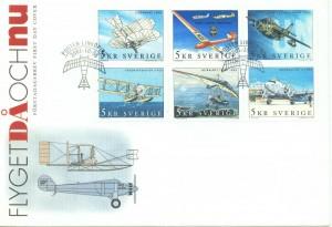 Swedish Aero Club Stamps