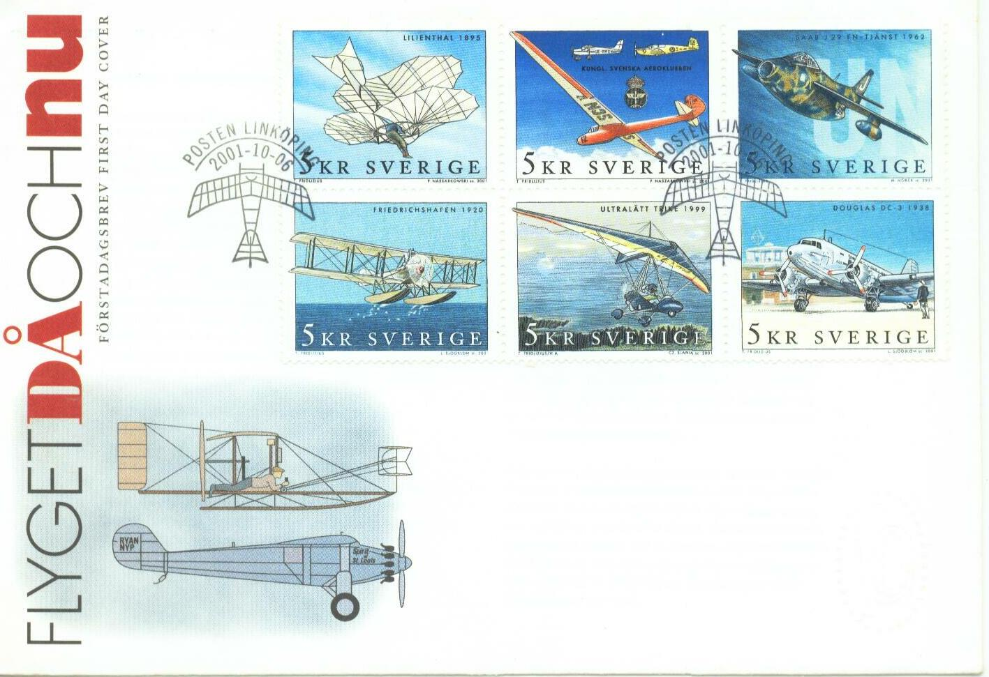 Swedish Aero Club Stamps
