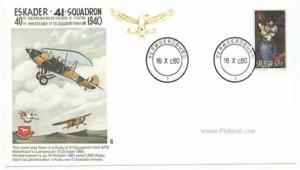 Eskader 40th Anniversary Stamp cover