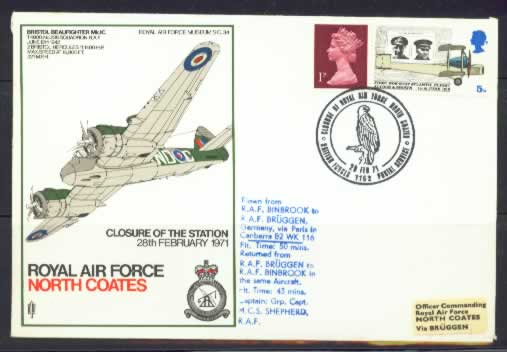 Royal Airforce Museum -North Coates - RAF Stamp Cover