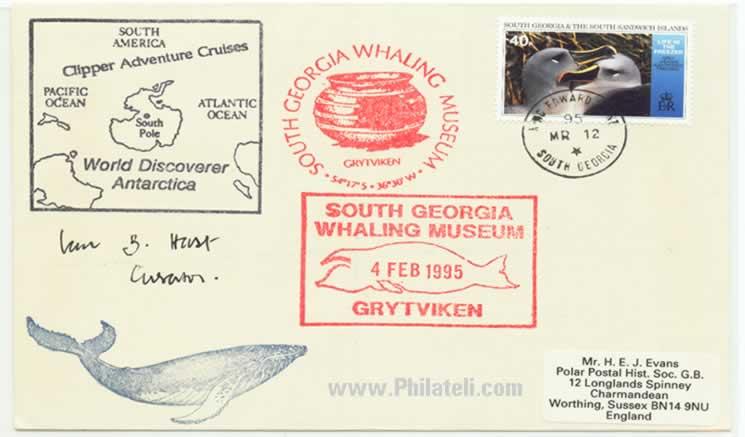 Whaling Museum Postmark of South Georgia